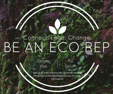 Eco Rep red blue and green blog University of Mississippi Ole Miss Office of Sustainability