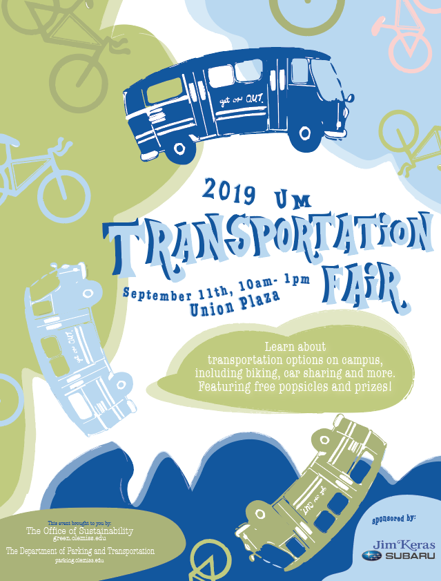 UM Transportation Fair Poster